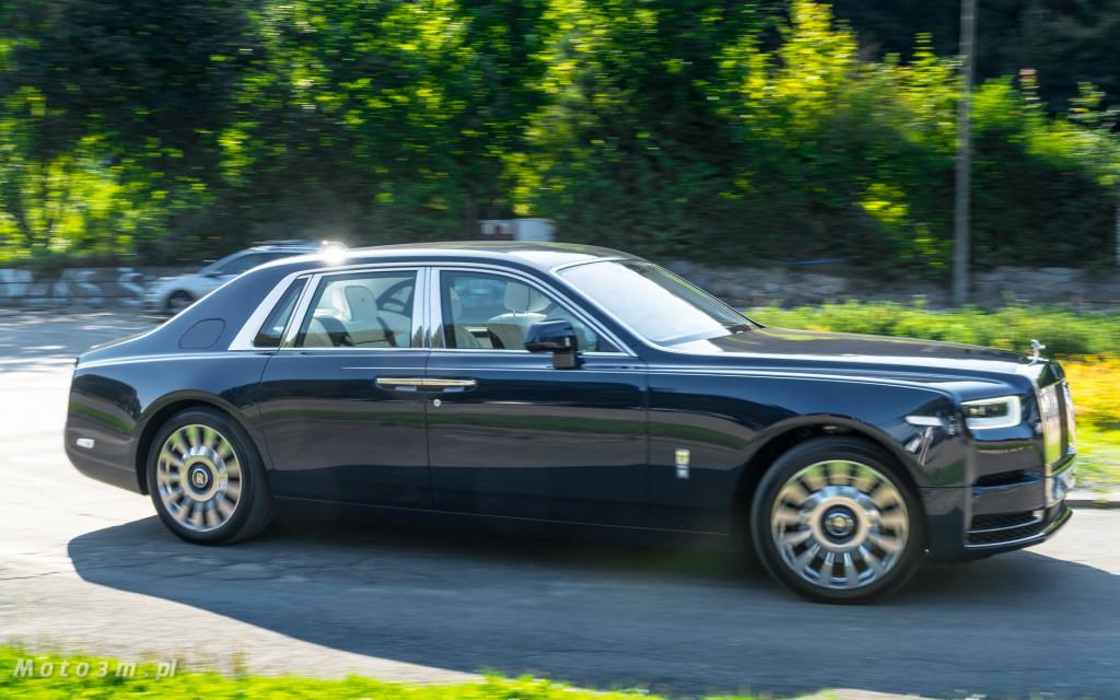 Rolls-Royce Phantom SWB Gdańsk - test Moto3m-07637