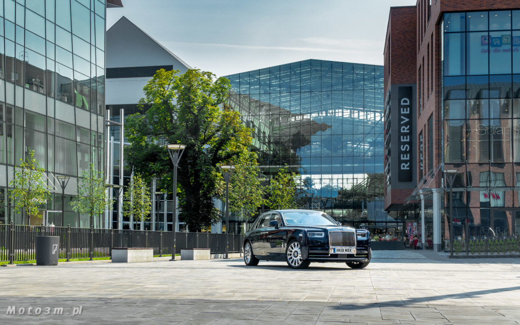 Rolls-Royce Phantom SWB Gdańsk - test Moto3m 2-