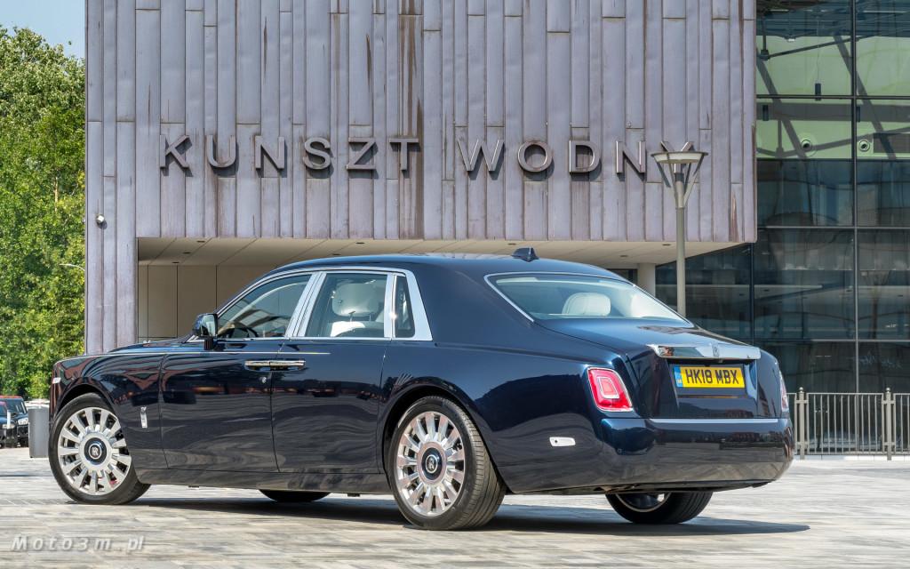 Rolls-Royce Phantom SWB Gdańsk - test Moto3m 4-