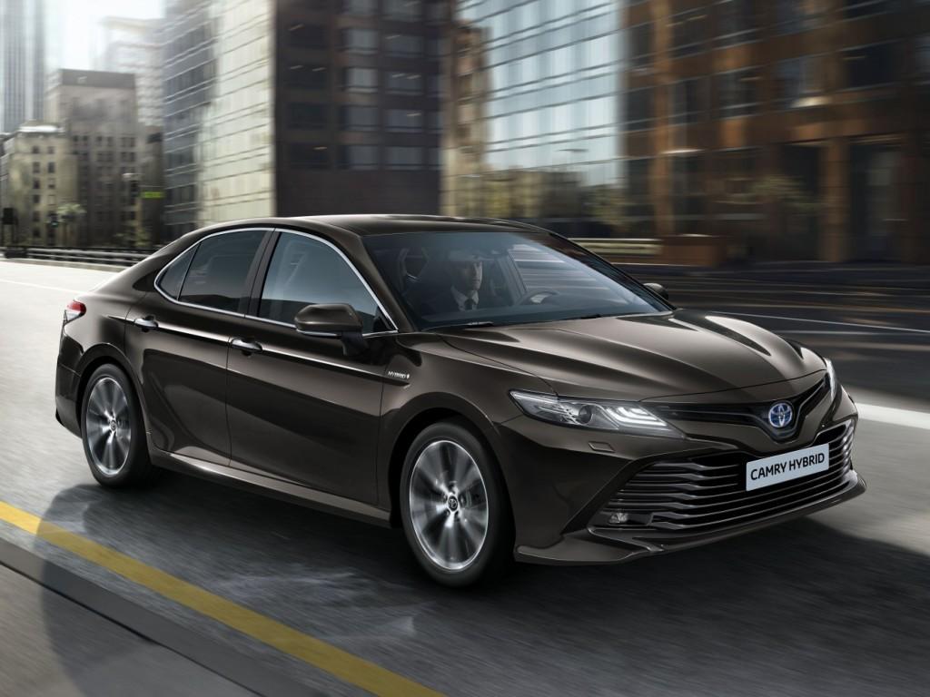 Nowa Toyota Camry - model na rok 2019 Fot. Toyota
