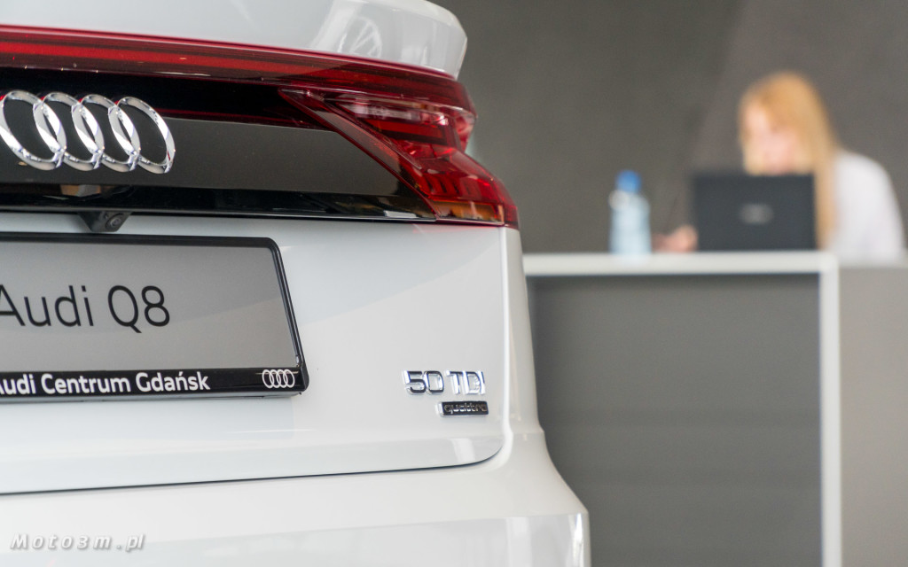Audi Q8 - Trójmiasto pokochało nowego SUV'a Coupe od Audi-08618