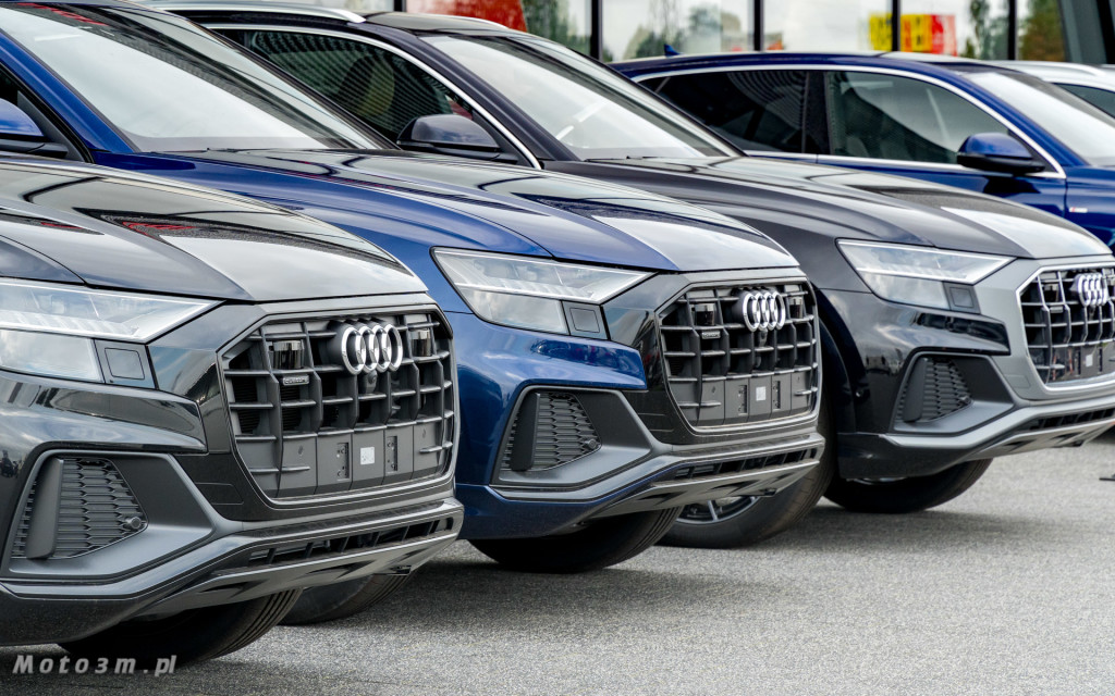 Audi Q8 - Trójmiasto pokochało nowego SUV'a Coupe od Audi -08632
