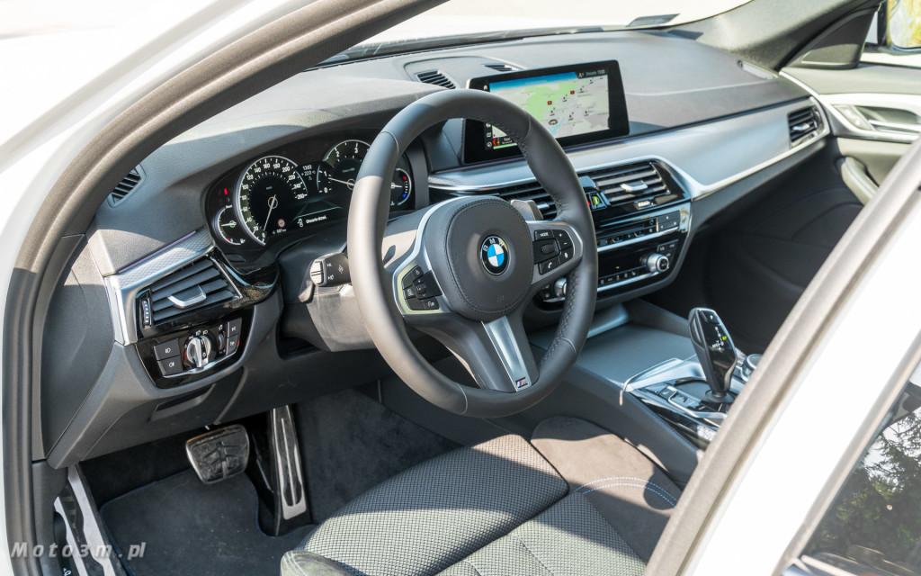 BMW 518d G30 test Moto3m-09207