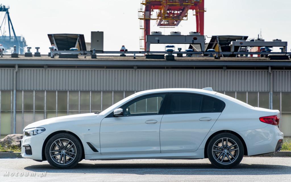 BMW 518d G30 test Moto3m-09211