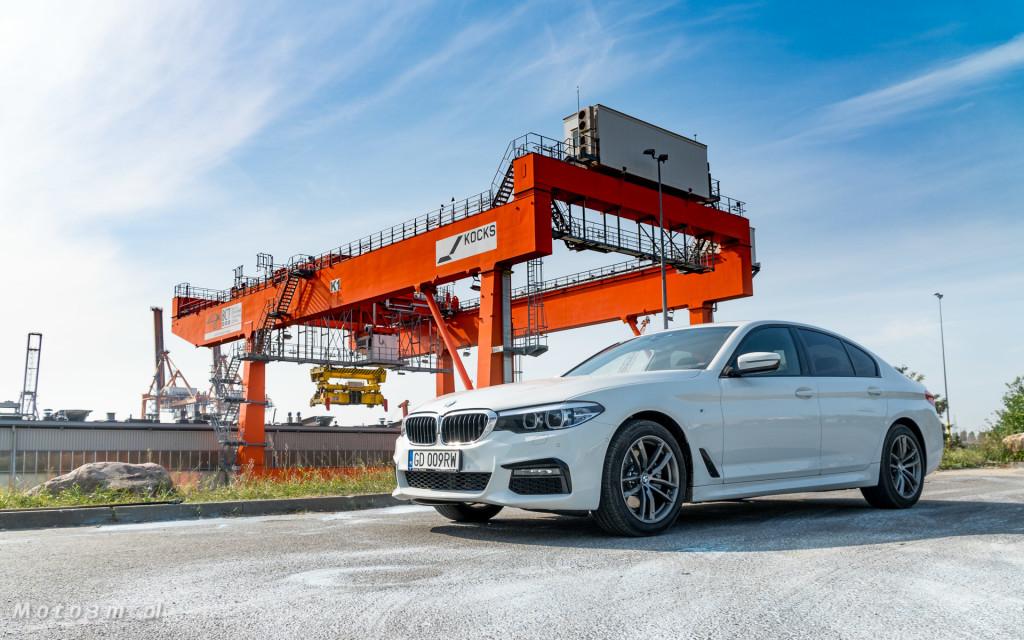 BMW 518d G30 test Moto3m-09214