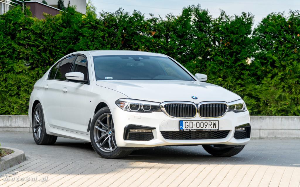 BMW 518d G30 test Moto3m-09237