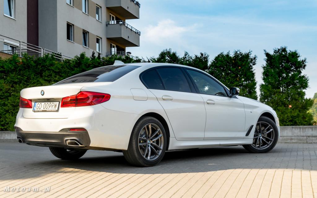 BMW 518d G30 test Moto3m-09245