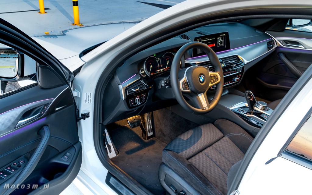 BMW 518d G30 test Moto3m-09587
