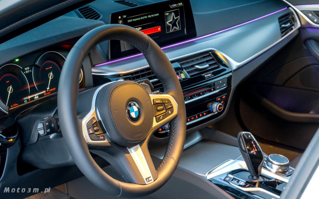 BMW 518d G30 test Moto3m-09588