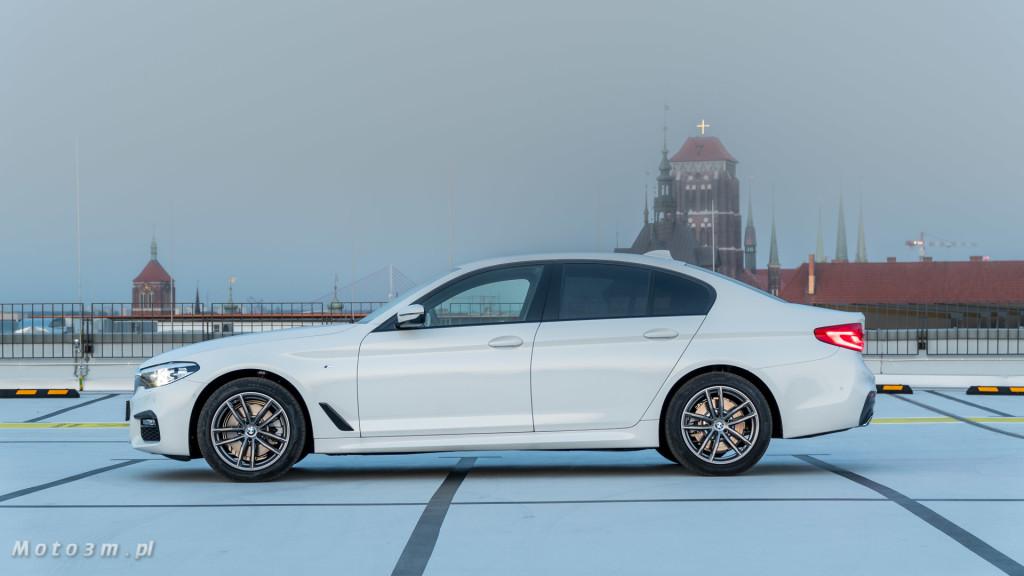BMW 518d G30 test Moto3m-09594