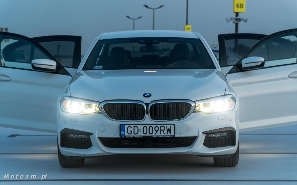 BMW 518d G30 test Moto3m-09600