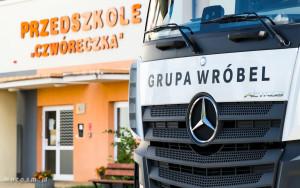 Mercedes-Benz Grupa Wróbel z wizytą w przedszkolu-00347