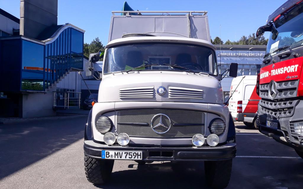 Mercedes-Benz LA 710 w Straszynie-121308