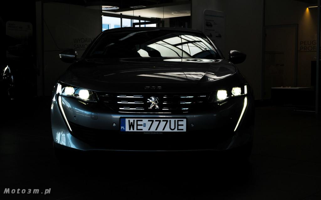 Nowy Peugeot 508 w JD Kulej Gdynia-09185