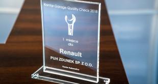 Złoty Klucz Jakości dla Renault Zdunek-02438
