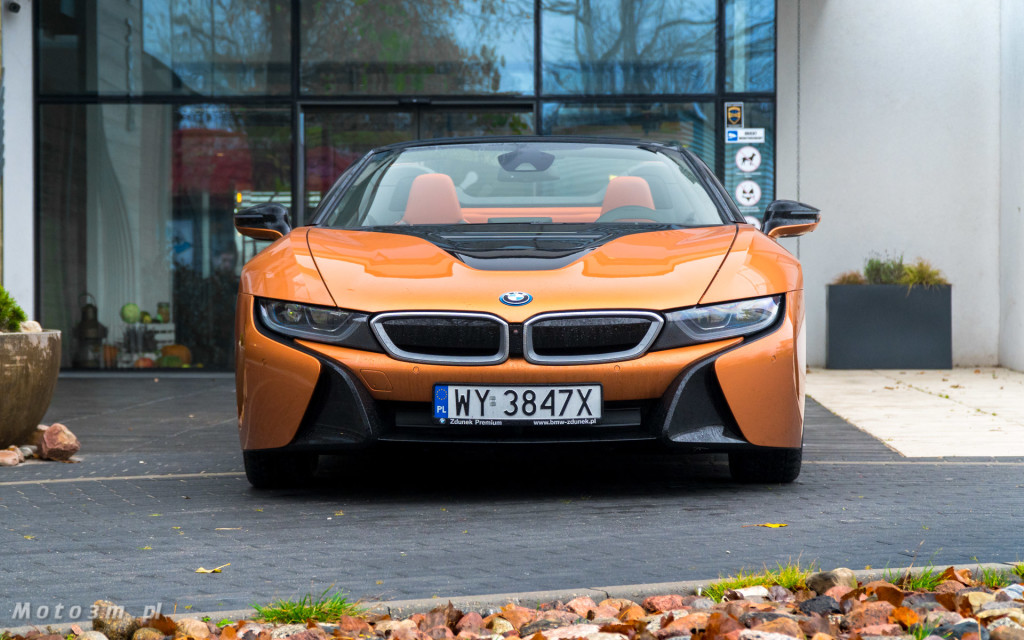 BMW i8 Roadster test Moto3m i BMW Zdunek-03330