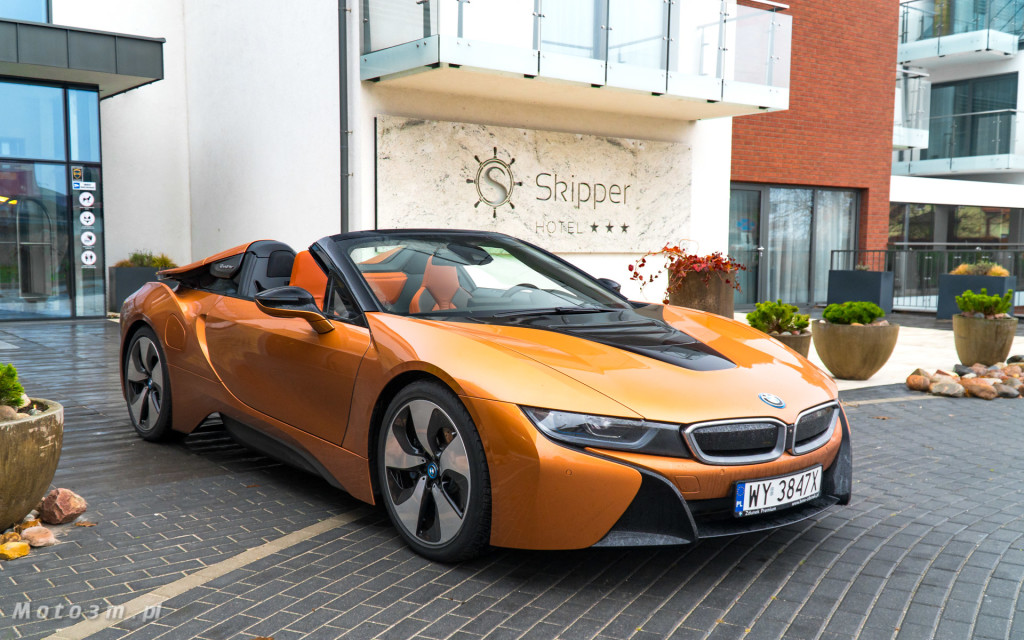 BMW i8 Roadster test Moto3m i BMW Zdunek-03334