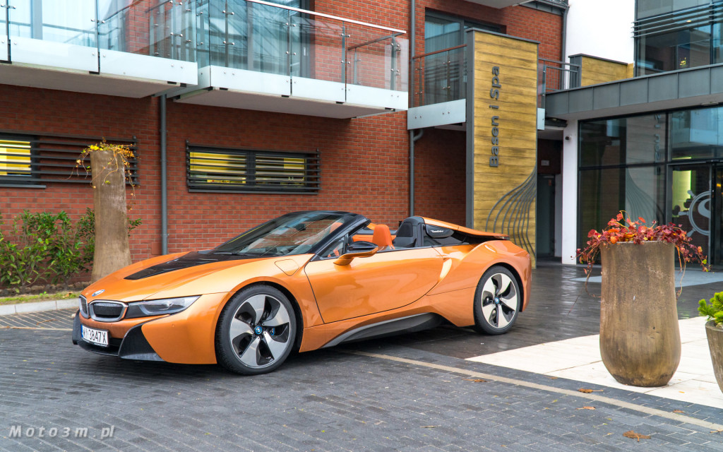 BMW i8 Roadster test Moto3m i BMW Zdunek-03335