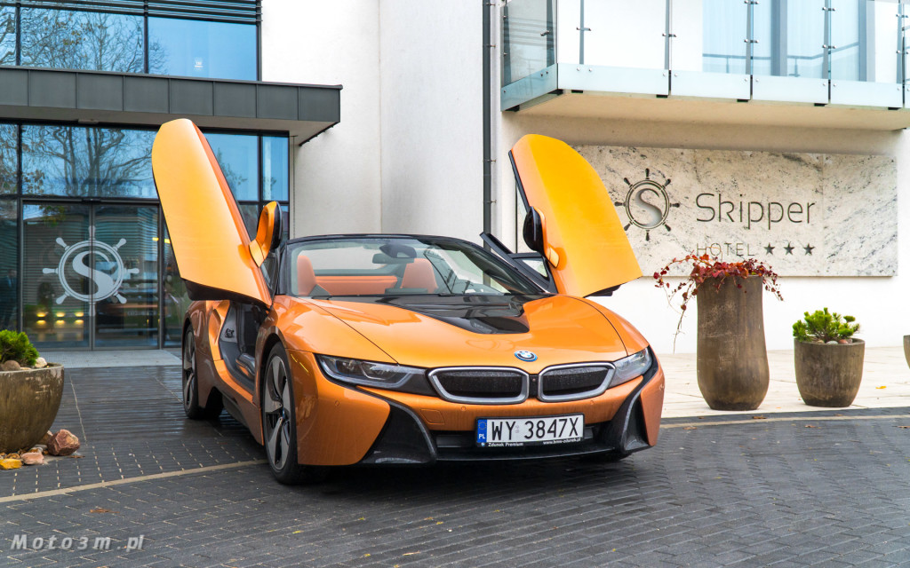 BMW i8 Roadster test Moto3m i BMW Zdunek-03341