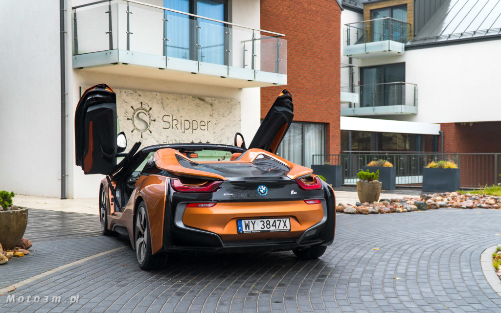 BMW i8 Roadster test Moto3m i BMW Zdunek-03344