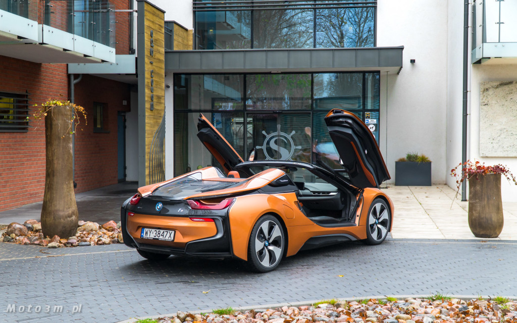 BMW i8 Roadster test Moto3m i BMW Zdunek-03346