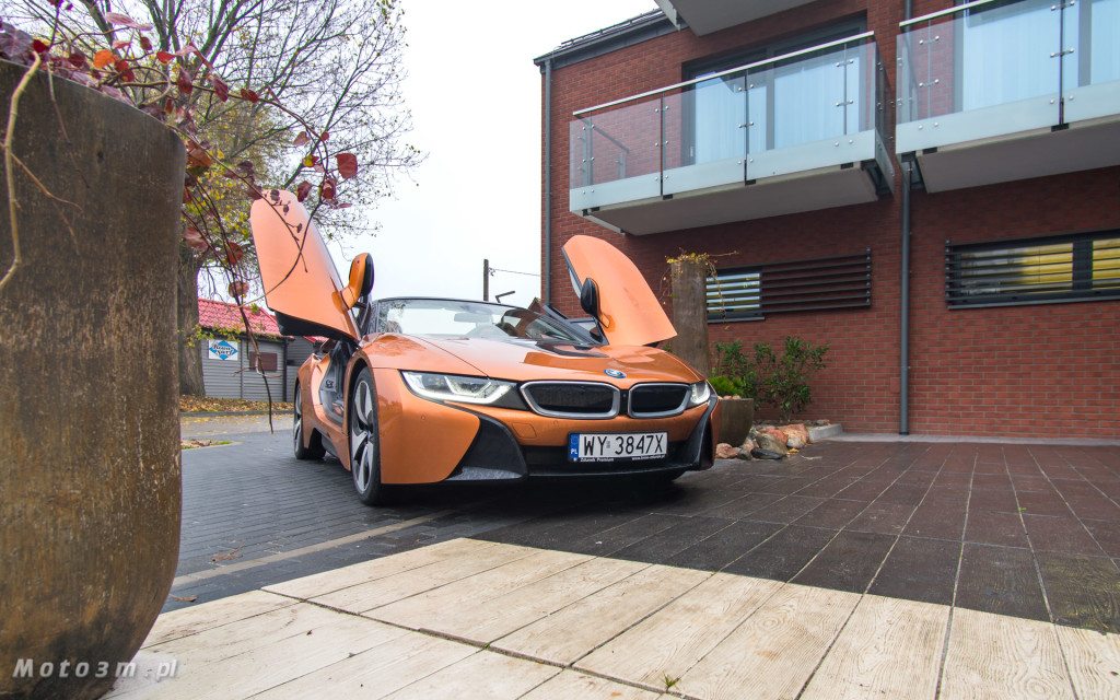 BMW i8 Roadster test Moto3m i BMW Zdunek-03365