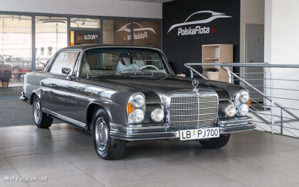 Mercedes-Benz 280 SE W111 w salonie ECI w Gdańsku -03029