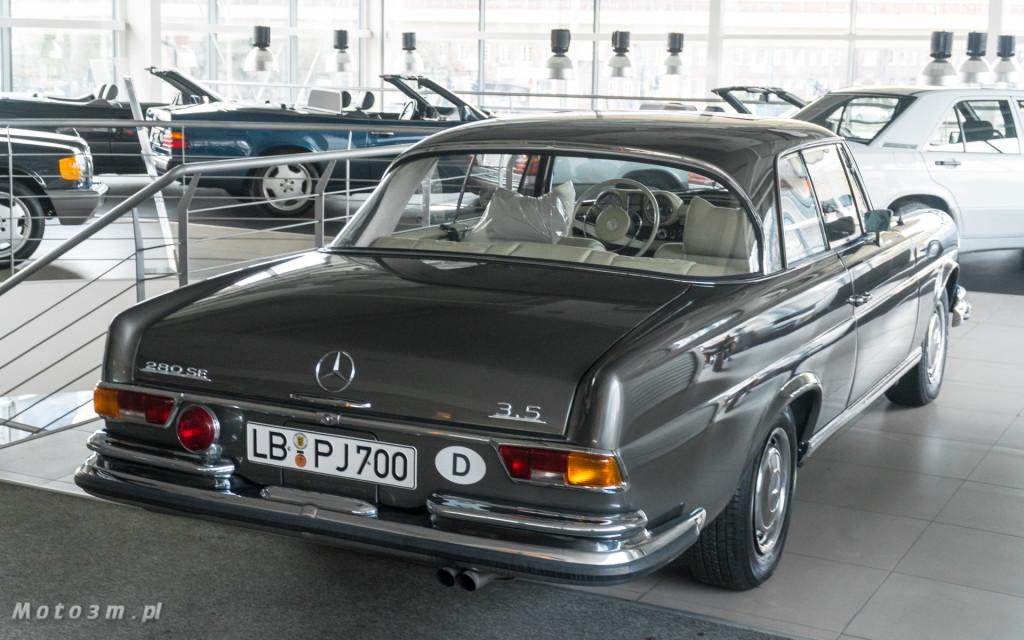 Mercedes-Benz 280 SE W111 w salonie ECI w Gdańsku -03035