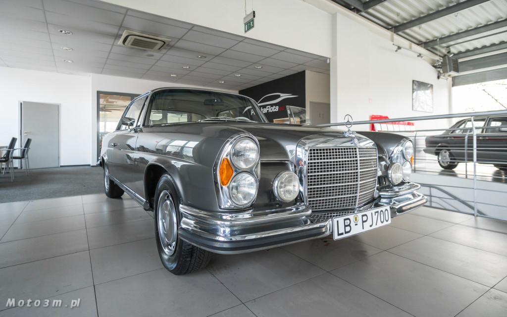 Mercedes-Benz 280 SE W111 w salonie ECI w Gdańsku -03052