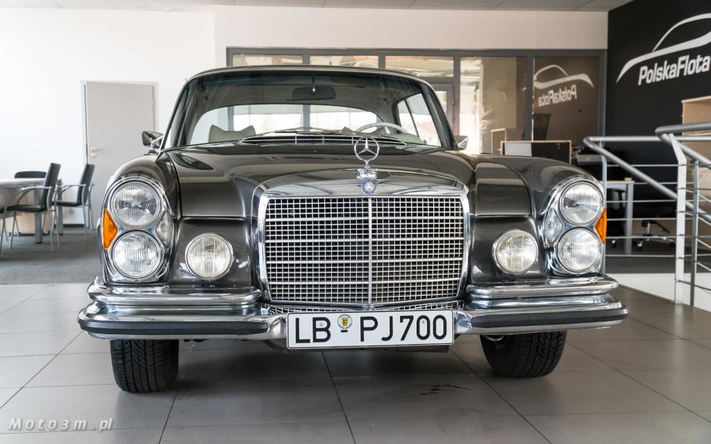 Mercedes-Benz 280 SE W111 w salonie ECI w Gdańsku -03083