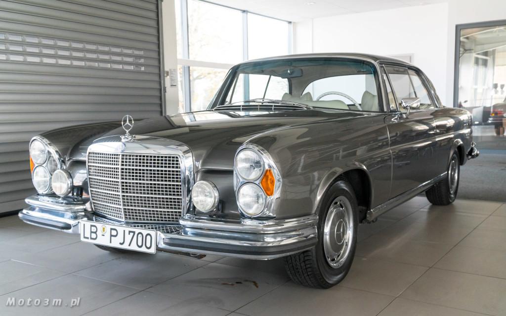 Mercedes-Benz 280 SE W111 w salonie ECI w Gdańsku -03084
