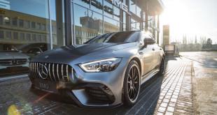 Pierwszy Mercedes-AMG GT 63 S 4MATIC+ 4-Door Coupé w BMG Goworowski-