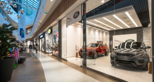 Showroom Jaguara i Land Rover'a British Automotive Gdańsk w C.H. Riviera -03459