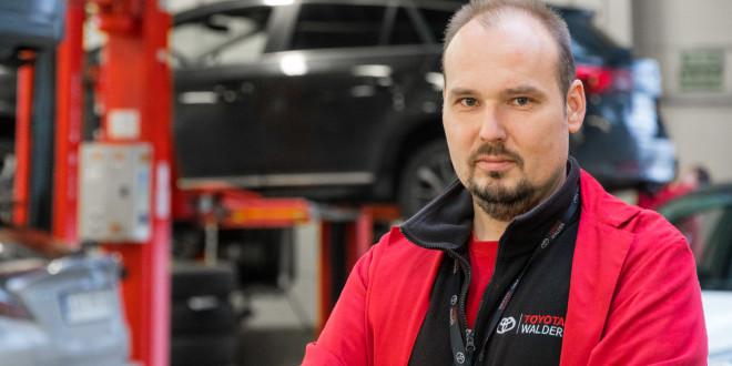 Najlepszy Mechanik Toyoty 2018 -  Grzegorz Michalczuk pracuje w Toyota Walder-05077