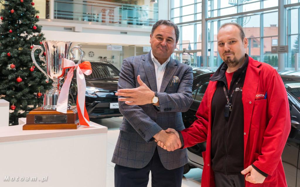 Najlepszy Mechanik Toyoty 2018 -  Grzegorz Michalczuk pracuje w Toyota Walder-05091