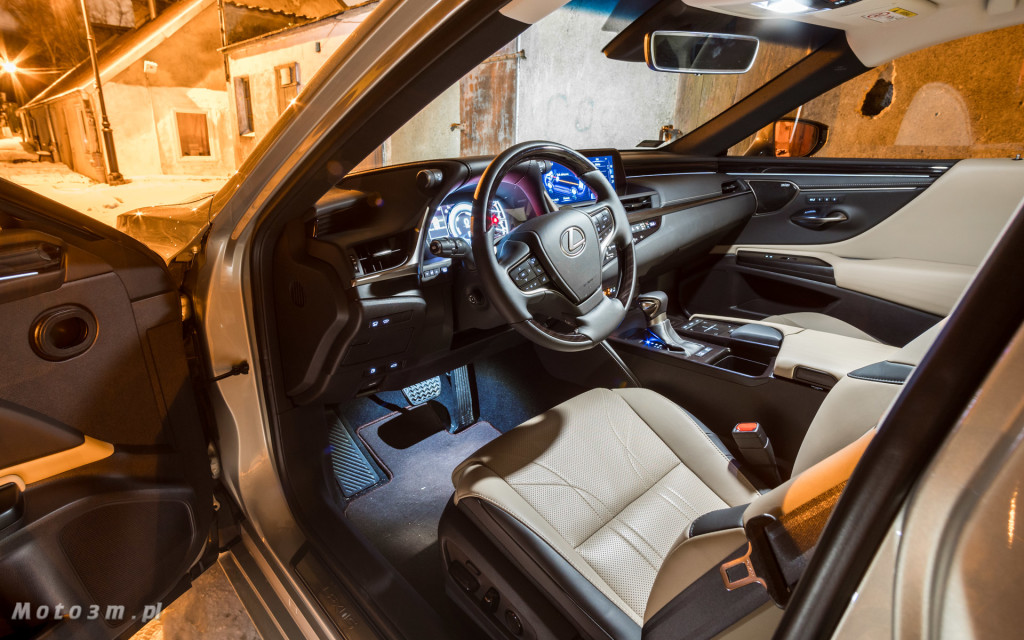 Nowy Lexus ES 300h od Lexus Trójmiasto - test Moto3m-05477