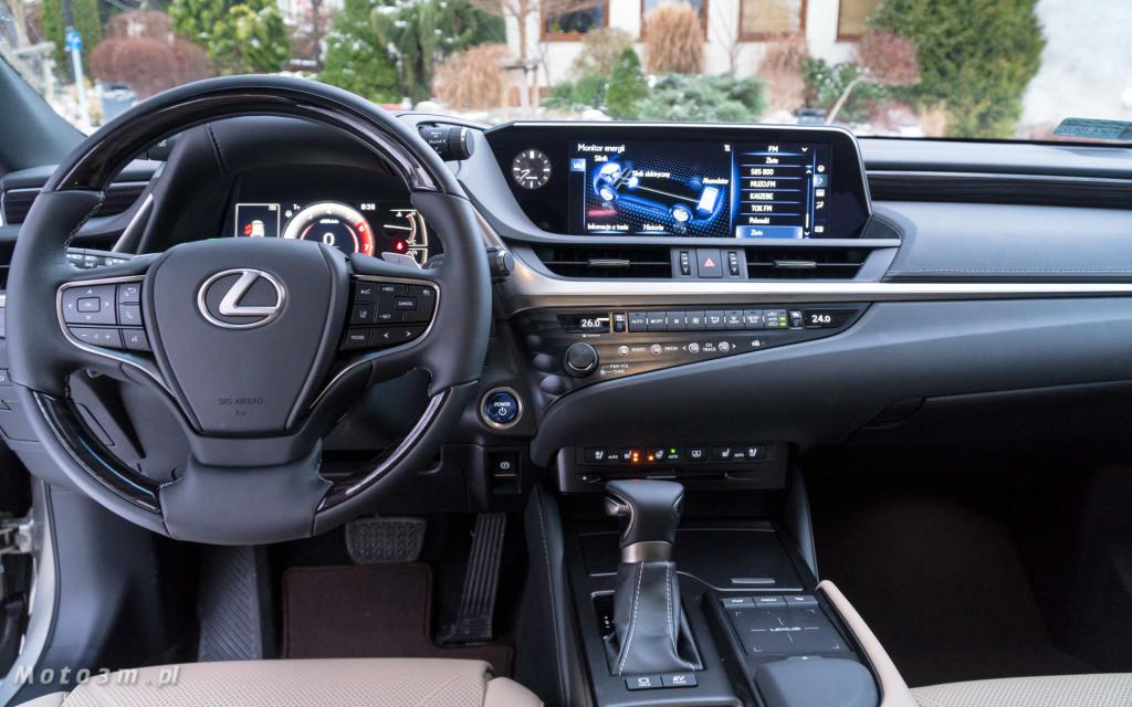 Nowy Lexus ES 300h od Lexus Trójmiasto - test Moto3m -05493