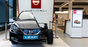 Nowy Nissan LEAF bez tajemnic - do 2 lutego w Nissan Zdunek KMJ w Gdyni-06361