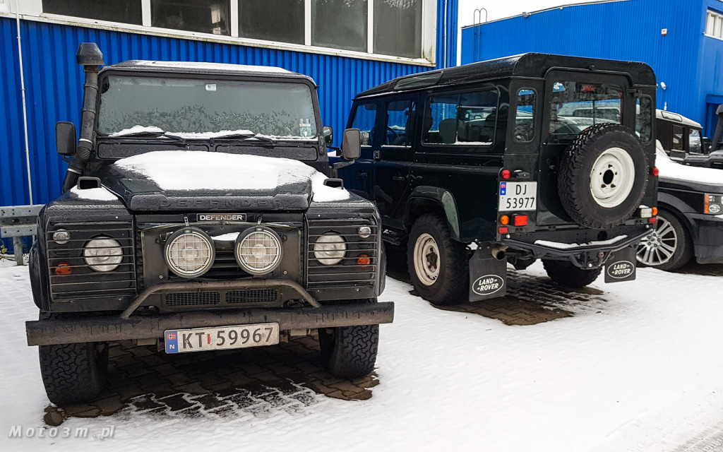 Terenowa legenda - Land Rover Defender w 4LAND Gdynia-102704