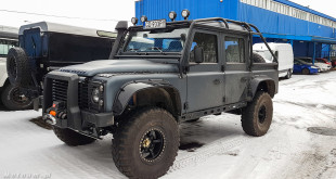 Terenowa legenda - Land Rover Defender w 4LAND Gdynia-102714
