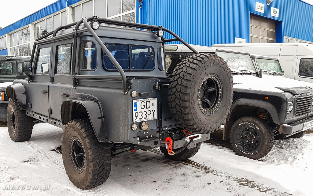 Terenowa legenda - Land Rover Defender w 4LAND Gdynia-102729