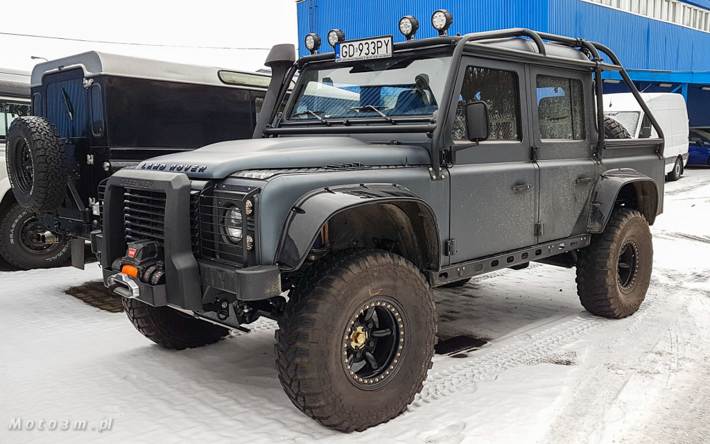 Terenowa legenda - Land Rover Defender w 4LAND Gdynia-102808