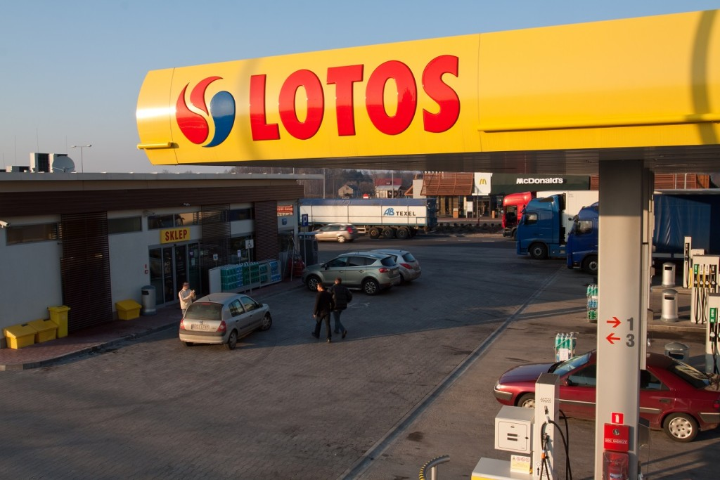 Miejsce Obsługi Podróżnych w Policach - zdjęcie z 2011 roku. Fot. LOTOS