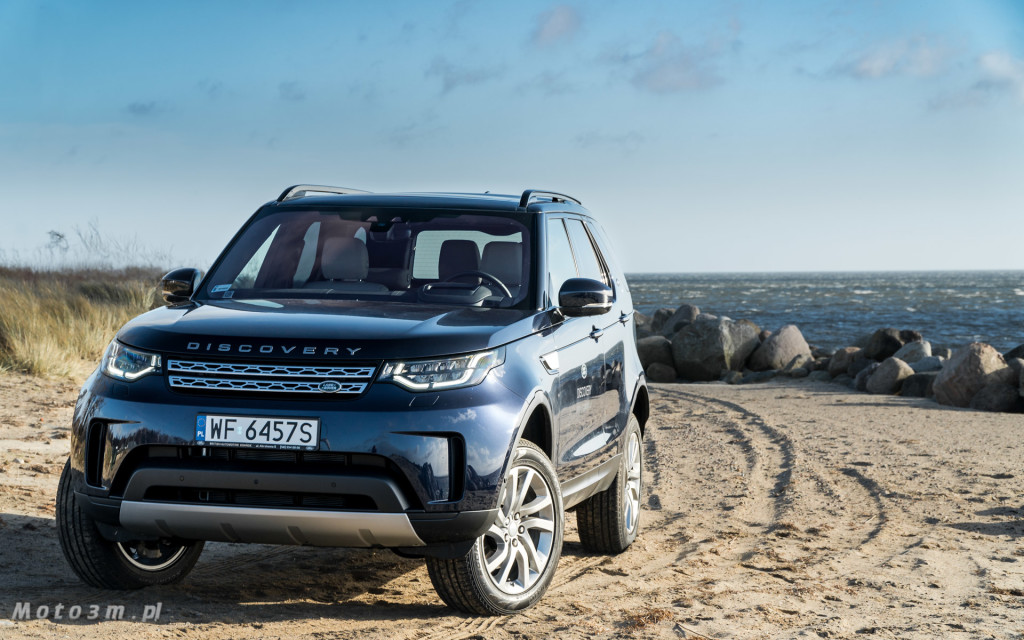 Nowy Land Rover Discovery od British Automotive Gdańsk - test Moto3m-