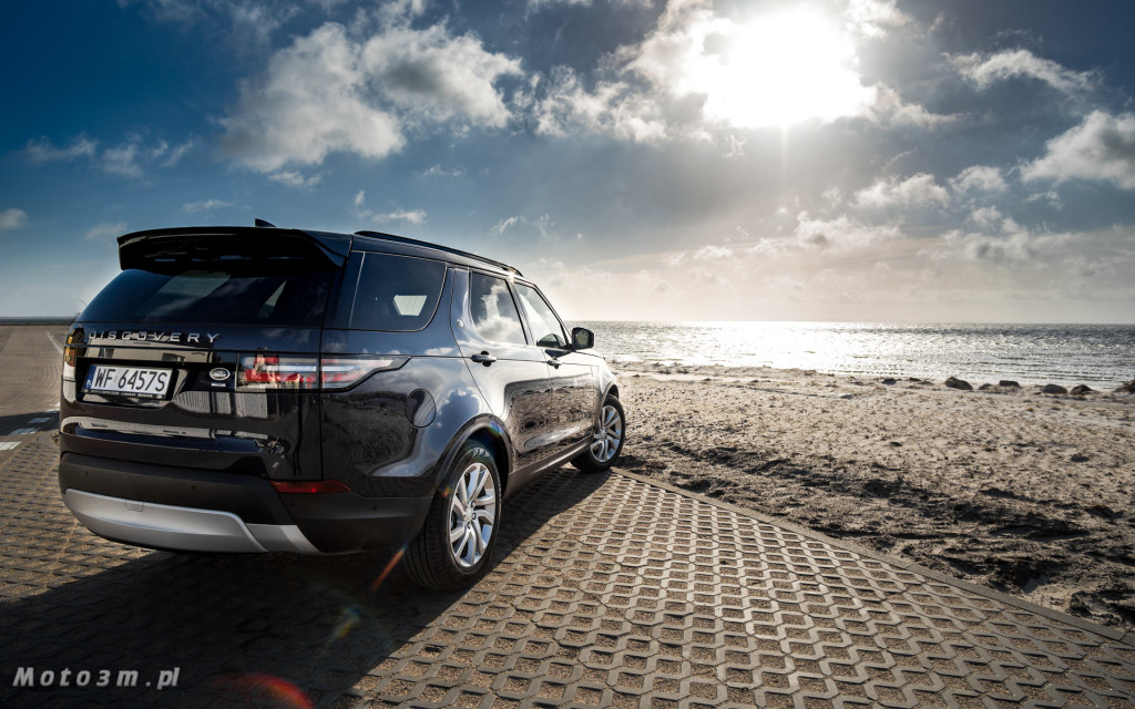 Nowy Land Rover Discovery od British Automotive Gdańsk - test Moto3m -