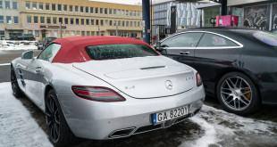 Używany Mercedes SLS AMG Roadster w BMG Goworowski-06588