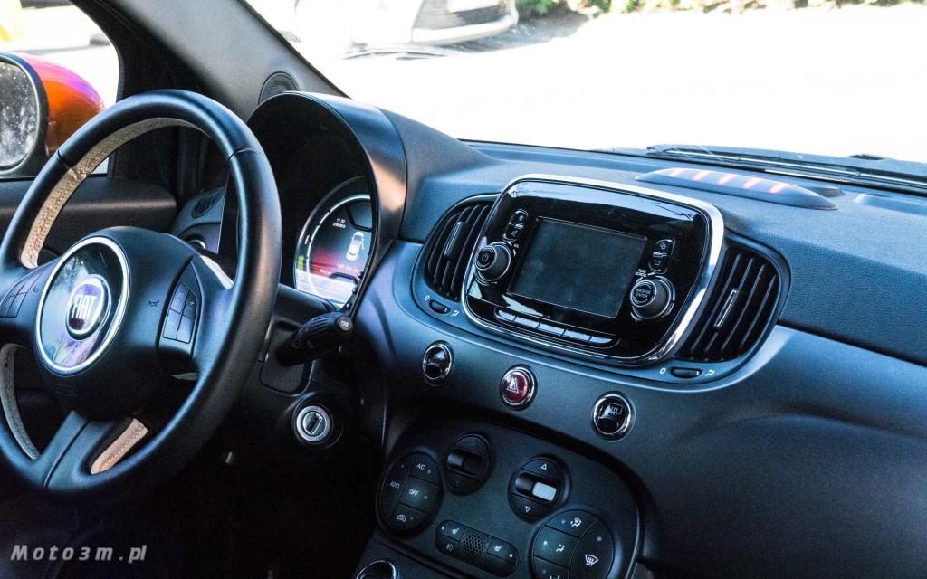 Fiat 500e - 100 procent  elektryczny - test moto3m-07654-07670