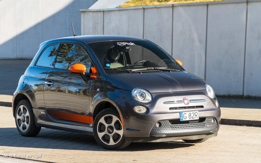 Fiat 500e - 100 procent  elektryczny - test moto3m-07654-07729