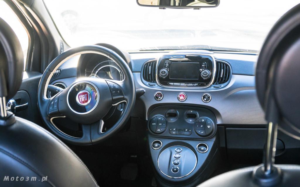Fiat 500e - 100 procent  elektryczny - test moto3m-07654-07744