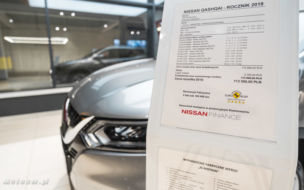 Nowa wersja Nissan Qashqai N-Motion w Zdunek KMJ Gdynia -